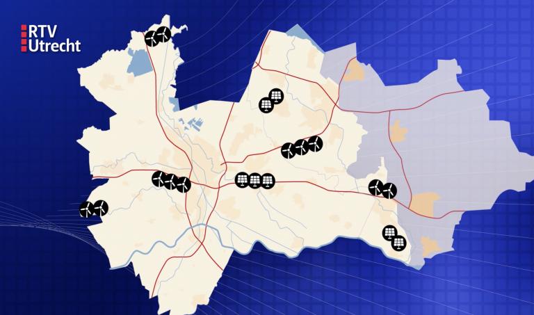 Utrechtse gemeenten (U16) willen uitstel voor grote zon- en windenergieplannen