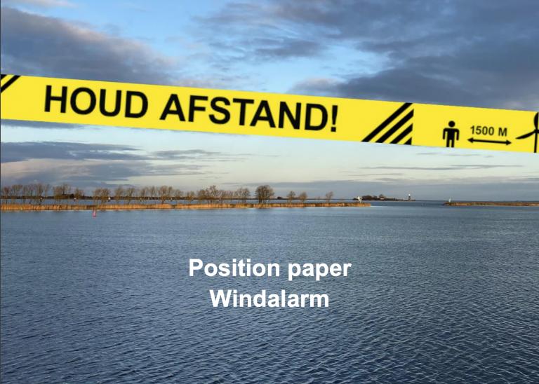 position paper geluid en gezondheidsklachten windmolens windalarm