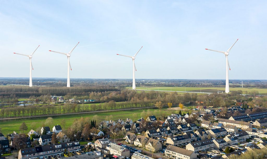 Oproep stil protest windmolens Renswoude Veenendaal Overberg 29 juni 1900
